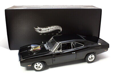 Hot Wheels Elite 1970 Dodge Charger 1/18 The Fast and The Furious
