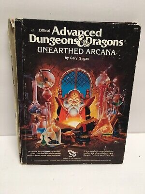 ADVANCED DUNGEONS & Dragons 2017 Unearthed Arcana - $35 00