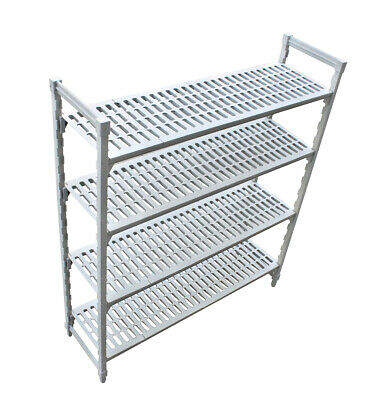 Cool Room Plastic Shelving Kit Adjustable - 610 W X 1525 L X 1800mm H Shelf Set