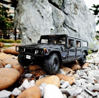 1/18 Diecast Maisto Black Hummer H1 Car Model Alloy SUV Vehicle Toy Gift Collect