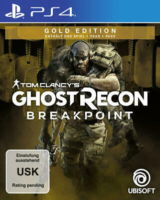 Tom Clancy's Ghost Recon Breakpoint Gold Edition  PS4 NEU + OVP