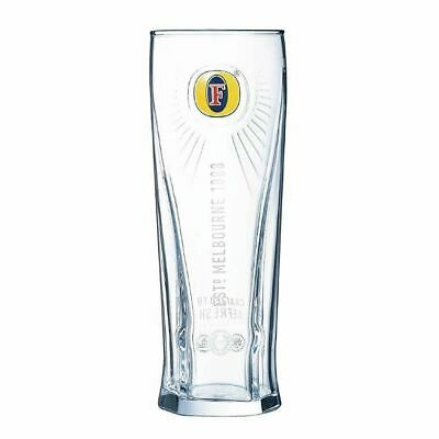 Arcoroc Fosters Beer Glass 570ml for Pubs Bars and Restaurants Pack of 24