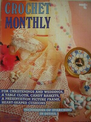 Crochet Pattern Magazine - CROCHET MONTHLY No 65 - 12 Designs for Home - GC