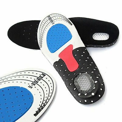 Gel Orthotic Insoles Sport Running Inner Soles Cushion Heel Arch Support Gym NEW