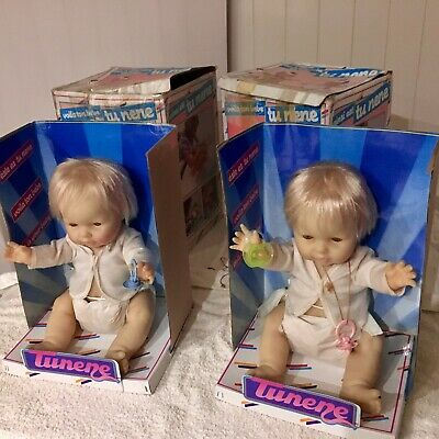 vintage dolls,two baby berjusa,,boy and girl,made in spain,,post or pickup ,,