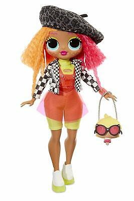 L.O.L. Surprise! O.M.G.Neonlicious Fashion Doll with 20 Surprises,Used-Very Good
