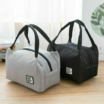 Lunch Bag Thermal Insulated Lunch Box Tote Cooler Lunch Container BO
