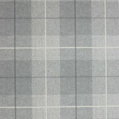 Arthouse Grey Country Tartan Wallpaper Checked Textured Hessian Paste Wall Vinyl
