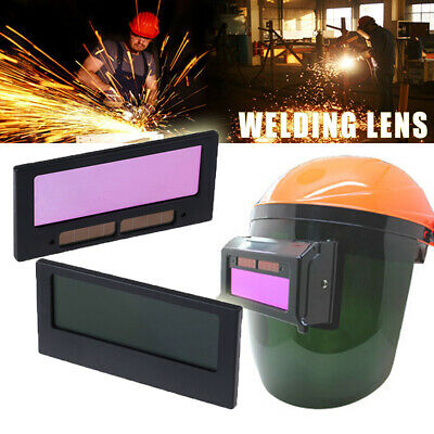 "1PC 4-1/4"" x 2"" Solar Auto Darkening Shade Filter Welding Helmet Mask Lens AU"