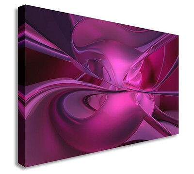Abstract Art Canvas Purple Canvas Wall Art Picture Print