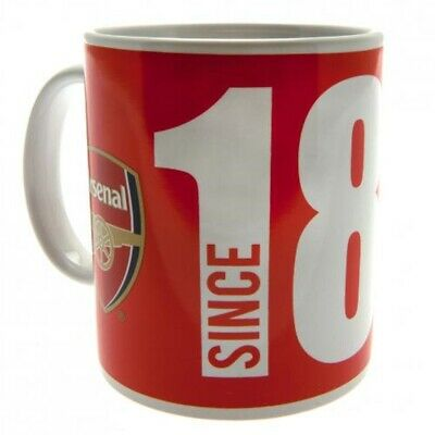 Arsenal AFC Mug Official Merchandise Red Ceramic Tea Coffee Gift Idea Gunners