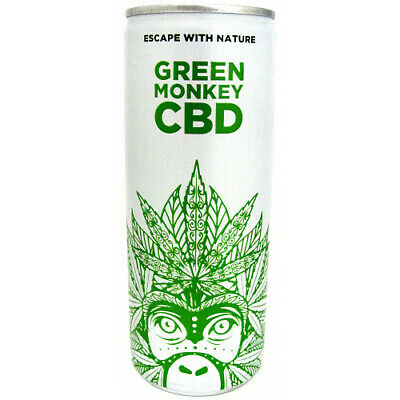 Green Monkey Energy Drink Can 250ml x 24 - FREE DELIVERY