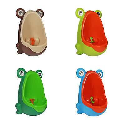 Frog Baby Potty Boy Training Urinal Fun Toddler Toilet Trainer *Various Designs*