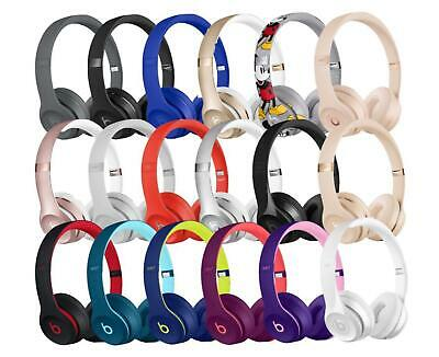 Brand New Beats By Dr. Dre Solo 3 Wireless On-Ear Headphones - All Colors