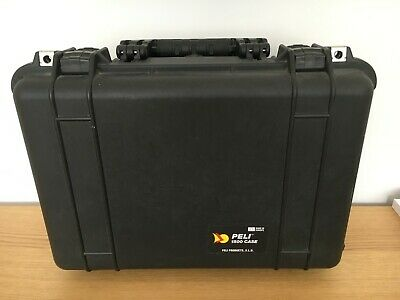 Peli Case 1500 Case With Padded Dividers