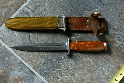 Wwii Ww2 Us M3 Pal Knife + M8 Bm Scabbard - Theater Modified