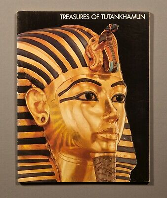 Treasures of Tutankhamun 1976 PB in excellent condition