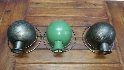 Lot 3 globe de Jielde à restaurer pièce restauration Loft Lamp Design JLD