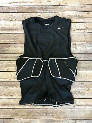 nike padded sleeveless Black Compression shirt xl Men's
