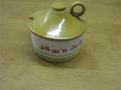Vintage 1962 Holt Howard Jam And Jelly Jar With Lid Jam N Jelly