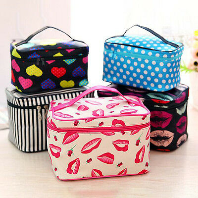 Large Travel Wash Bag Toiletry Organizer Women Make Up Cosmetic Pouch Handbag
