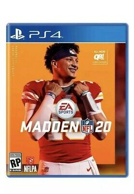 Madden NFL 20 (Playstation 4) PS4-Sale!! Game Disc Only No Case.