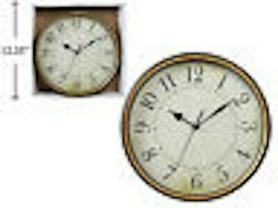 Antique Wall Clock- Large, with Pendulum, Vintage Style, Round Wall Clock
