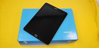 Samsung Galaxy Tab S2 SM-T817A 32GB AT&T Unlocked Wi-Fi  Black. Good OEM  inbox