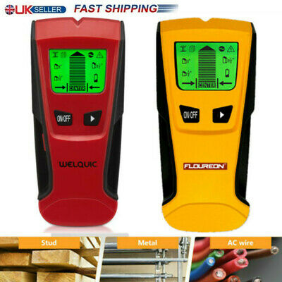 3-IN-1 Stud Center Finder Metal Sensor AC Live Wire Detector Detects Scanner AA
