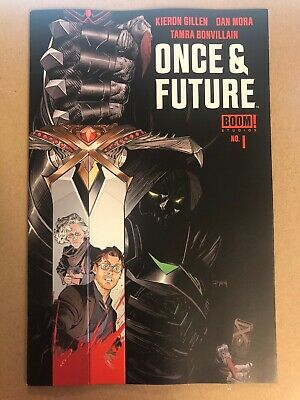 2019 Boom Studios ONCE AND FUTURE #1 Mora Cover Gillen First Printing NM