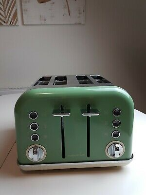 Morphy Richards 242006 Special Edition Accents 4 Slice Toaster Green