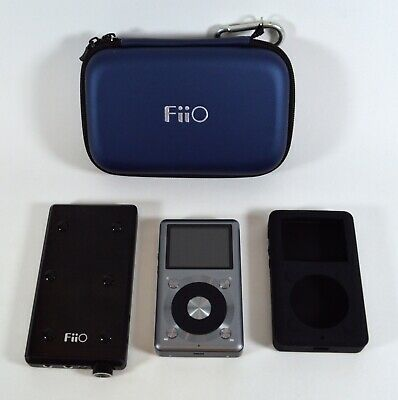 FiiO X3-II Hi Res Music Player & Mont Blanc E12 Portable Headphone Amp with Case