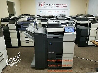 Konica Minolta Bizhub C368 Copier Printer Scanner- Meter Only 80k