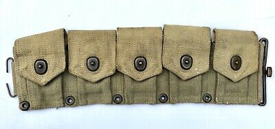 BOYT M1 Garand Ammo Belt Half - Original WW2 US Army