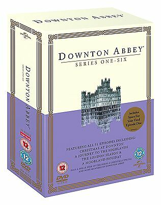 Downton / Downtown Abbey - The Complete Tv Series Season 1-6 + Specials Dvd New