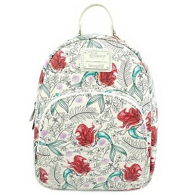 LOUNGEFLY DISNEY THE Aristocats Marie Floral Mini Backpack