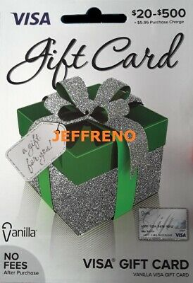 $300 GIFT CARD. ACTIVATED. FREE SHIPPING! No Fees After Purchase. Non Reloadable