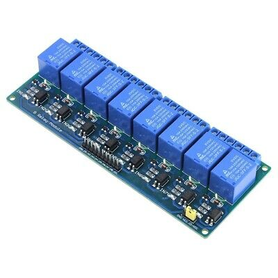8-Channel 5V DC Output Relay Shield Board for Arduino Raspberry Pi ARM AVR CN