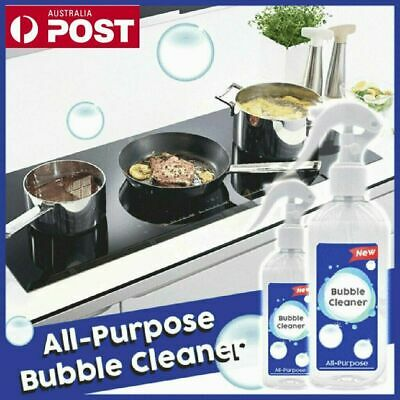 Kitchen Grease Cleaner Multi-Purpose Foam Cleaner All-Purpose Bubble Cleaner BO
