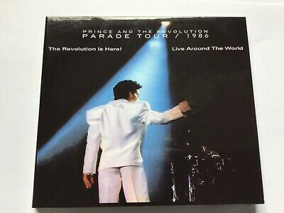 "Prince & The Revolution ""Parade Tour"" 1986 2 Cd Digipak Dj Pantel Remastered"