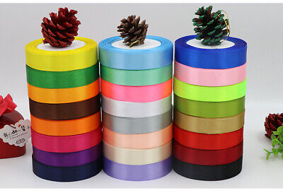 22 Metres, Double Sided Satin Ribbon (Rolls). 20mm Widths