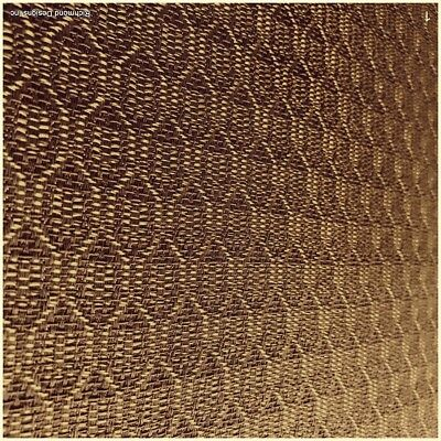 """Antique Radio Speaker/Grille Cloth, Zenith Gold,18"""" x 24"""", Free Shipping"""