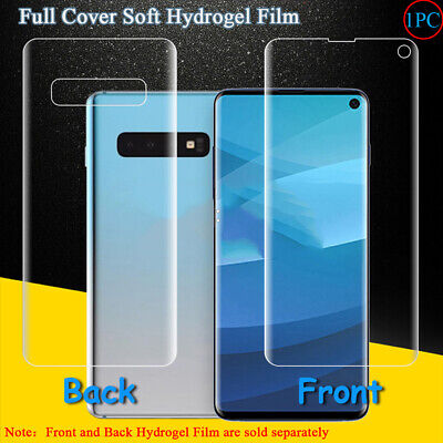 Full Cover Soft Hydrogel Film For Samsung Galaxy S10E S10 Plus Screen Protector