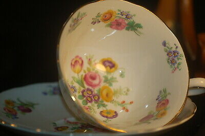Grosvenor Floral  Cup and Saucer