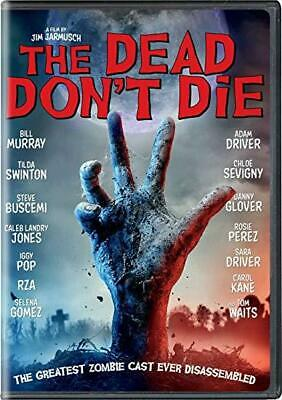 The Dead Don't Die DVD Free Shipping PreOrder Release date 9/10/19