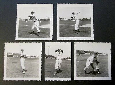 Five Vintage BRISTOL TWINS Photographs on Kodak Velox Paper ~ OOAK!
