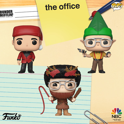 The Office Holiday Funko Pops. PRE-ORDER