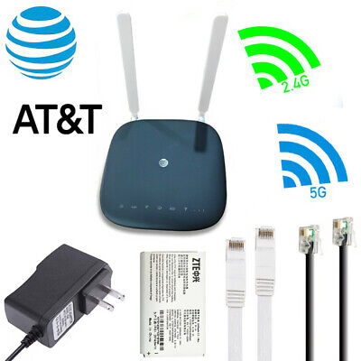 Unlocked AT&T ZTE MF279 4G Cat6 Wi-Fi Modem LTE 300Mbps Wireless Router +Antenna