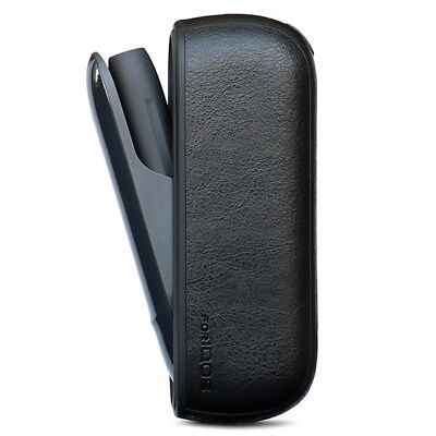 Black Leather Portable Case Holder Pouch Bag Protective Cover For IQOS 3.0
