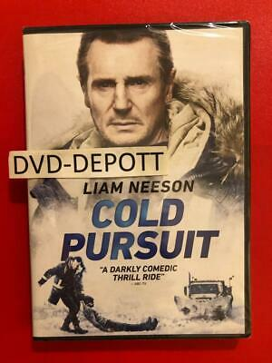 Cold Pursuit DVD Liam Neeson *AUTHENTIC DVD READ * Brand New FAST Free Shipping